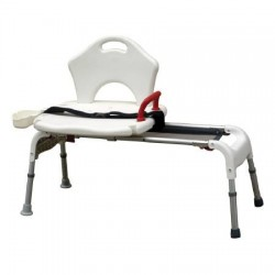 Folding Universal Sliding Transfer Bench by Drive Medical - RTL12075