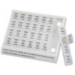 Large Weekly Medication Planner Pill Holder