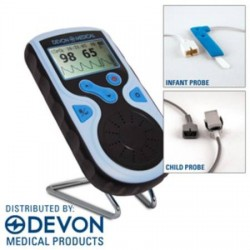 PC-66 Handheld Pulse Oximeter Plus Probes - DTPC66 COMBO