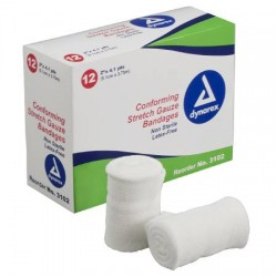 Conforming Stretch Gauze Bandages Non Sterile Latex Free
