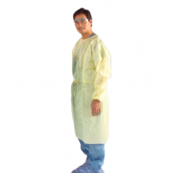 Protective Procedure Gown with Elastic Cuff