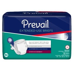 Prevail Extended Wear Adult Briefs Heavy Absorbency