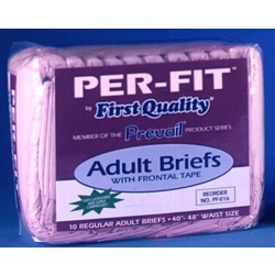 Prevail Tab Closure Incontinent Brief Heavy Absorbency Regular - PF-014/1