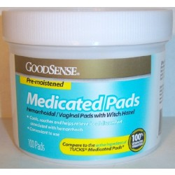 Medicated Pads Canister (100 Count) - UE00047