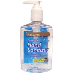 Advanced Hand Sanitizer with Pump, 8 oz. - VJ00068A
