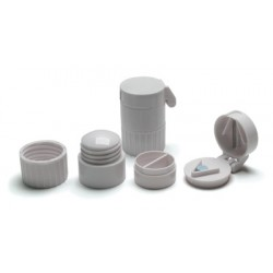 Pill Crusher with Stainless Steel Blade