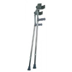 Lumex Forearm Crutches 30 to 36 Inch - 6342A