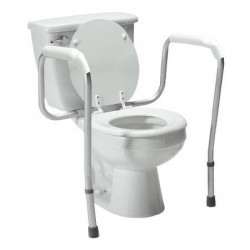 Versaframe Toilet Safety Frame with Arms 28-32 Inch - 6460A