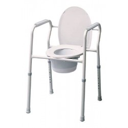 Commode Chair 15-1/2 to 23-1/2 Inch - 7103A-4