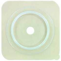 Adhesive Wafer with Flange