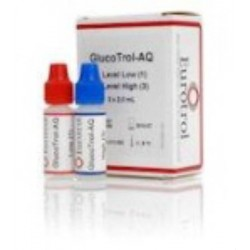 GlucoTrol-AQ Glucose Control Solution Kit, High and Low - 180.013.002