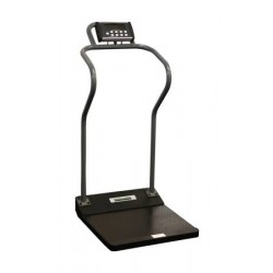 Health O Meter Antimicrobial Digital Platform Scale 22 X 15-3/4 X 2-5/8 Inch - 3001KL-AM