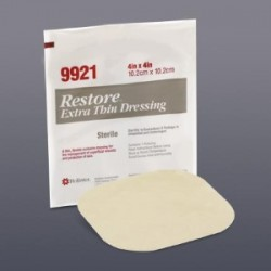 "Restore Plus Conformable/Tapered Edge Wound Care Dressing 17"" Triangle 17 Sq. Inch - 519959"