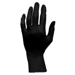 ProWorks Black Nitrile Powder Free Gloves