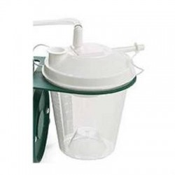 Invacare Disposable Collection Jars with 6 ft Suction Tubing, 800cc for the IRC1135 Aspirator - IRC1140