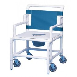 Bariatric Shower Commode Chair 22 Inch - SC550P