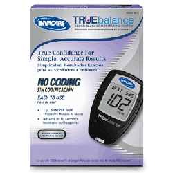 Invacare Supply Group Truebalance Blood Glucose Meter