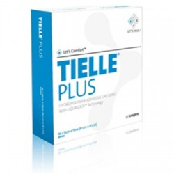 Tielle Plus Adhesive Dressing 5.0875 X 5.0875 Inch - MTP505