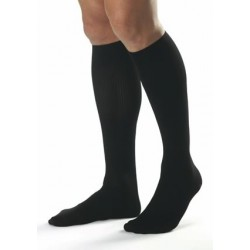 Classic Supportwear Men's Knee-High Mild Compression Socks X-Large, White X-Large - 110334