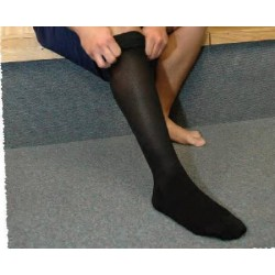 Relief Knee-high 15-20 mmHg Compression Stockings, Closed Toe X-Large - 114806