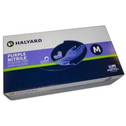 Halyard Purple Nitrile Exam Gloves Powder-Free (fka KC500)