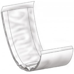 Abri-Let Incontinence Booster Pad Light Absorbency 24 Inch Length - AB403501