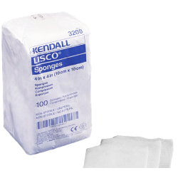 LISCO 3208 Cellulose Gauze Sponges 4x4 Inch