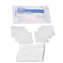 Curity 3913 Super Sponge Drianage Pack with WET-PRUF ABD Pad