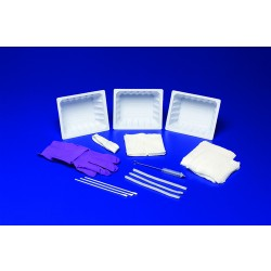 Tracheostomy Care Tray With Latex-Free Gloves