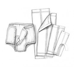 Simplicity Snap Closure Protective Underwear 2X-Large - 694