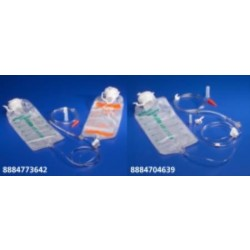 Kangaroo Entriflush Proximal Spike Set with Flush Bag Anti-free Flow