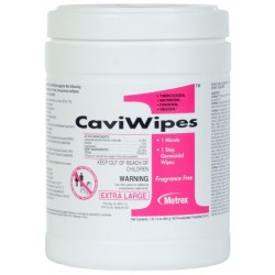 CaviWipes Surface Disinfectant Wipes