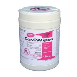 CaviWipes1 Extra Large Alcohol Surface Disinfectant 9 X 12 Inch - 13-5150