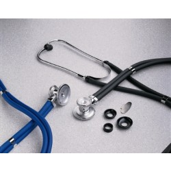 entrust Sprague - Rappaport Stethoscope 1-1/4 Inch / 1 Inch / 3/4 Inch Bell - 01-640BKMCE