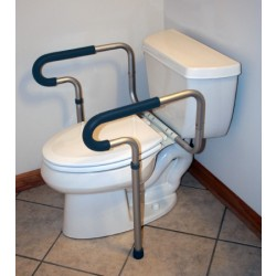 sunmark Toilet Safety Frame 26 to 31 H Inch - 133-0406