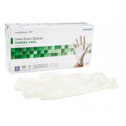 Confiderm Textured Latex Exam Gloves - Powder Free X-Large - 14-1380