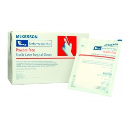 Perry Performance Plus Smooth Latex Surgical Gloves - Powder Free, Sterile Size 9 - 20-1090