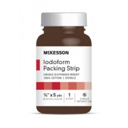 McKesson Iodoform Packing 1/4 Inch X 5 Yard - 61-59145