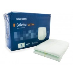 McKesson Tab Closure Incontinent Brief Heavy Absorbency Small - BRSTRLXL