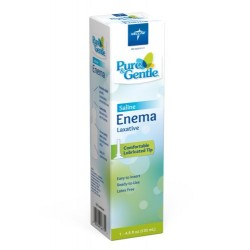 Medline Pure & Gentle Disposable Saline Enema