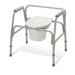 EZ-Care Heavy Duty 3-in-1 Commode 400 lbs. 18 to 22 Inch - G30214-2