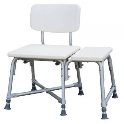 Non-Padded Bariatric Transfer Bench