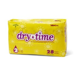 DryTime Disposable Baby Diapers,White