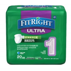 FitRight Stretch Ultra Brief Heavy Absorbency