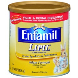 Enfamil Lipil Milk-Based with Iron by Mead Johnson