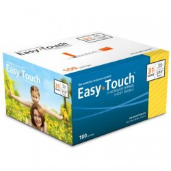 EasyTouch Insulin Syringe with Needle - 831365