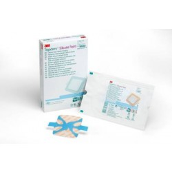 Tegaderm Silicone Foam Dressing with Adhesive Border