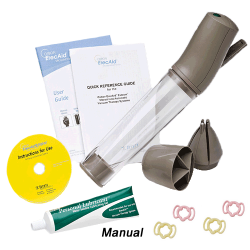 Osbon ErecAid Esteem Penis Pump MANUAL or BATTERY Operated Vacuum ED Therapy