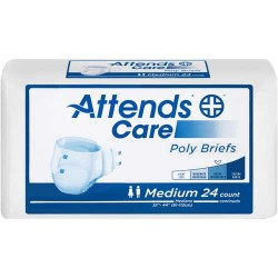 Attends Care Poly Briefs Heavy Absorbency