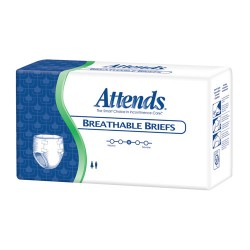 Attends® Breathable Briefs with Heavy Absorbency